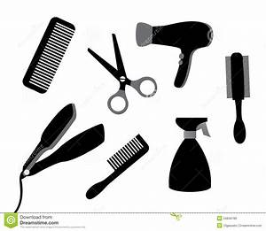 Devices for hair care stock vector. Illustration of ...