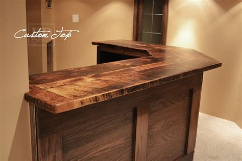 reclaimed wood bar kitchen island tops hd threshing