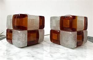 Italienische Lampen Designer : w rfelf rmige italienische lampen aus glas von poliarte ~ Watch28wear.com Haus und Dekorationen