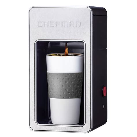 Walmart has a bunch of these coffee makers on sale, all for less than $150. Chefman Personal Coffee Maker, Grey - Walmart.com - Walmart.com