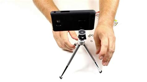 diy iphone tripod diy smartphone iphone tripod mount treppiede per