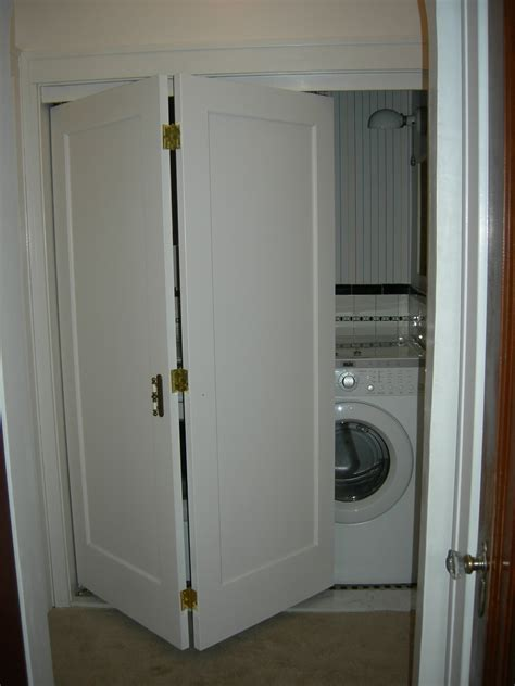 bed bath interesting bifold closet doors for laundry