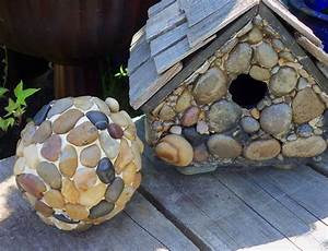 27 Best DIY Pebble And River Rock Decor Ideas And Designs