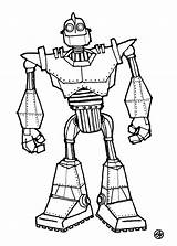 Giant Iron Coloring Pages Power Sketch Robot Rangers Sheet Boyama Printable Print Movie Quest Sketches Dibujo Camelot sketch template