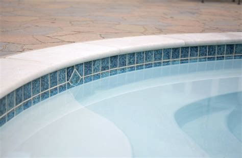 pool waterline tiles perth pearl pool renovation decking blue waterline tile pool