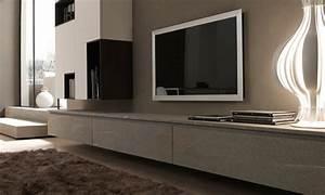 Banc Tv Suspendu : meuble tv bras articule meubles de design d 39 inspiration pour la t l vision et d ~ Teatrodelosmanantiales.com Idées de Décoration