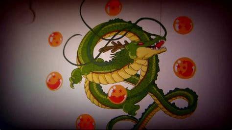 Pintando Dibujo De Shenlong Mural Youtube