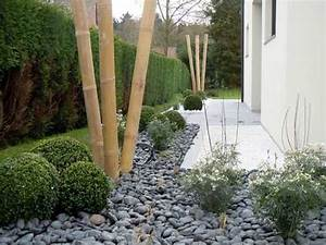 comment amenager un jardin zen deco cool With decorer son jardin avec des galets 10 decoration allee maison