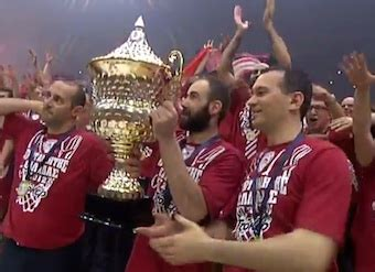 Basketball Olympiakos Is The New Champion Of Greece