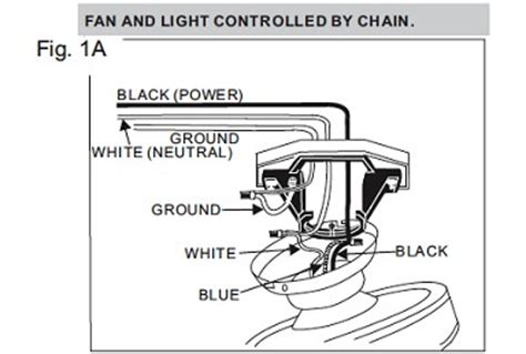 troubleshooting  ceiling fan connection doityourself