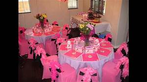 at home table Birthday Party decoration ideas - YouTube