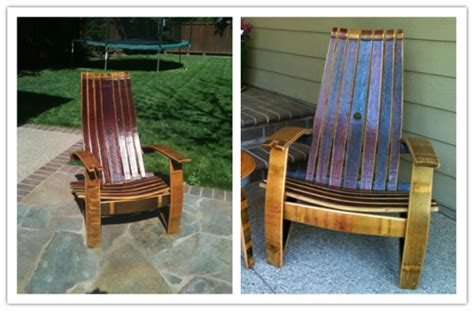 pdf diy diy wine barrel adirondack chair diy
