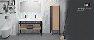 stunning image pour salle de bain pictures awesome With meuble salon moderne design 0 meuble lavabo salle bain rona homeandgarden