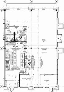 Restaurant Floor Plan for Tenant Improvement – Taste of