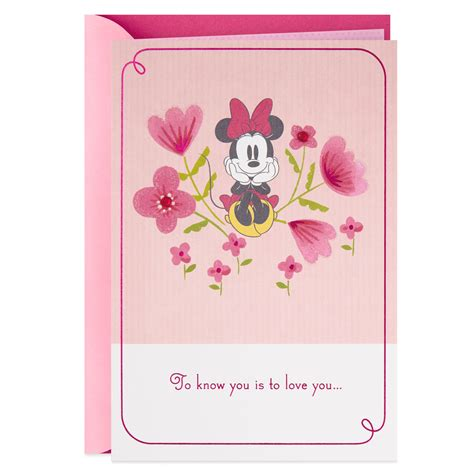 Maybe you would like to learn more about one of these? Disney Minnie Mouse Among Flowers Mother's Day Card - Greeting Cards - Hallmark