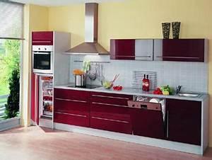 Küche Rot Hochglanz : wellmann k che in hochglanz rot neu ~ Yasmunasinghe.com Haus und Dekorationen