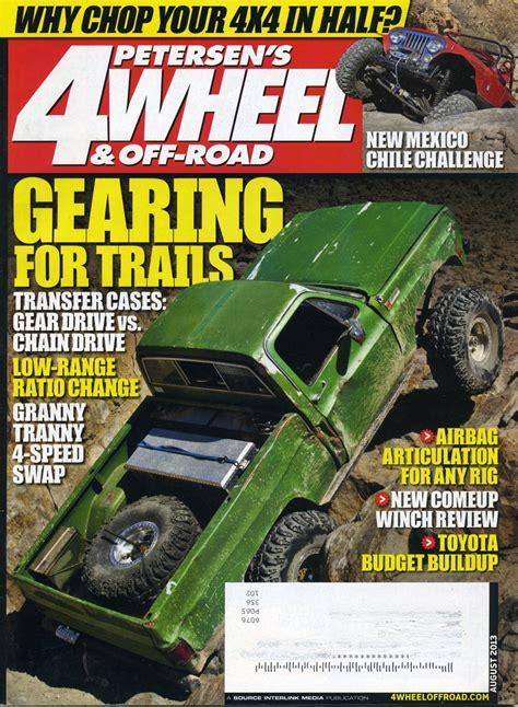 petersons  wheel  road magazine august