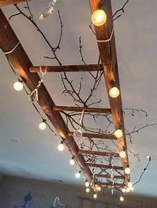 Echelle Decorative Casa : top wooden ladder wedding decor ideas to diys fast chic ~ Teatrodelosmanantiales.com Idées de Décoration