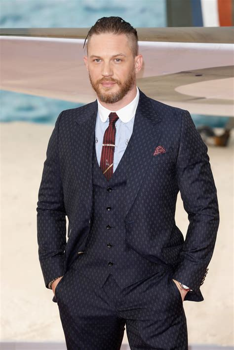 tom hardy   dunkirk world premiere red