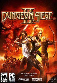 dungeon siege series dungeon siege ii