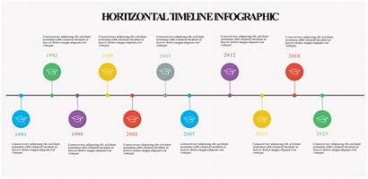 Timeline Infographic Horizontal Simple Maker Tool