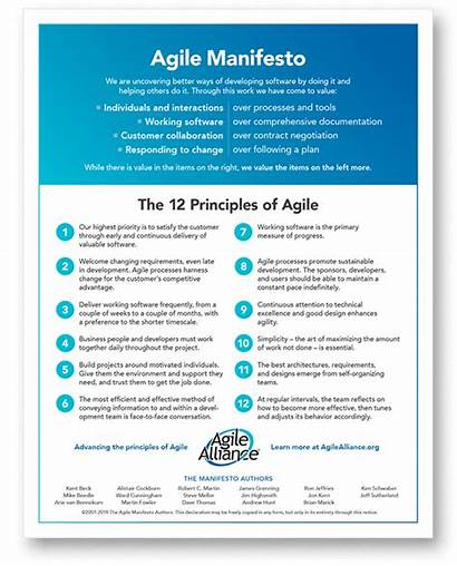 Agile Manifesto Principles Alliance Finance Function Software