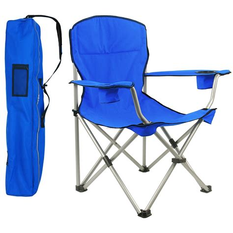 direct import large folding chair w arm rests 350