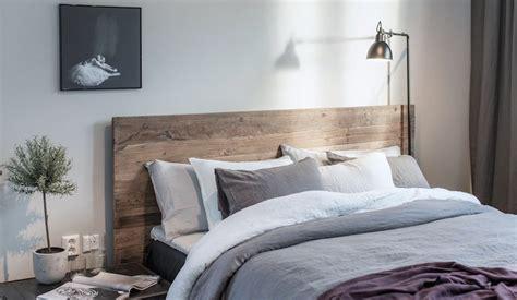 chambre deco naturelle tete de lit bois