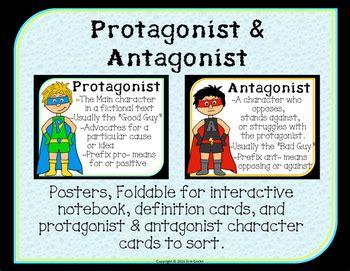protagonist vs antagonist by teaching ninjas teachers
