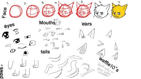 draw  anime cats  waffle  deviantart