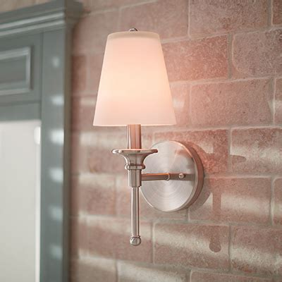 Bath Lighting Sconces by Bathroom Lighting At The Home Depot
