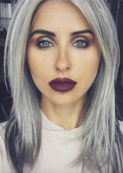 Gunmetal Gray Hair Color Find Your Perfect Hair Style