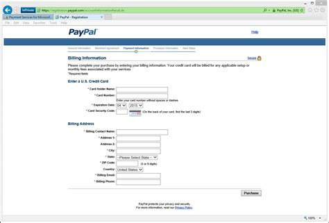 paypal sign up form dynamics online payment services paypal sign up