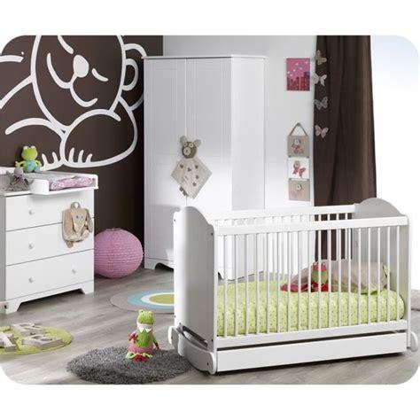 chambre de bébé complete chambre bébé complète nature blanche sans mat achat