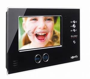 Interphone Video Somfy : visiophone sans fil ~ Edinachiropracticcenter.com Idées de Décoration