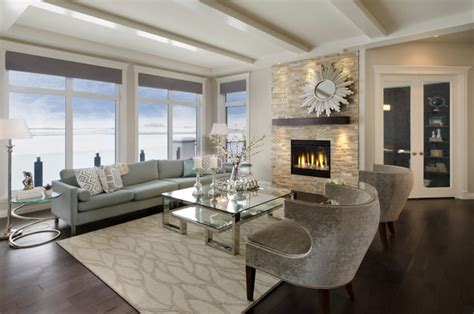 Taupe Living Room Ideas Uk by The Savannah Showhome Calgary Alberta