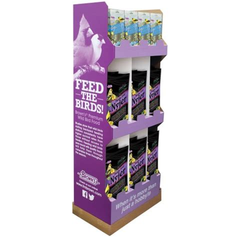 42 pc finch display thistle seed thistle socks f m
