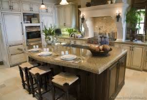 kitchen island spacing pictures of kitchens traditional white antique