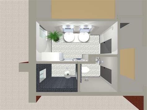 cuisine salle de bains 3d plans salle de bains petites surfaces
