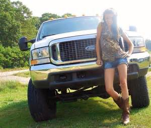 Country Girls and Ford Trucks
