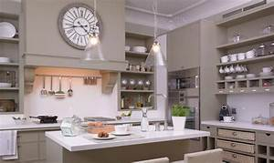 taupe kitchen transitional kitchen deulonder With kitchen colors with white cabinets with bed bath and beyond wall art