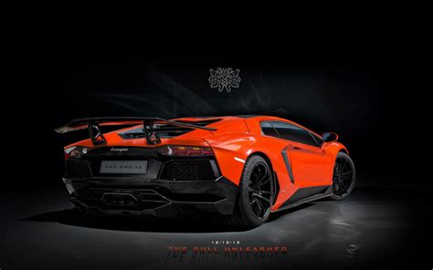 dmc tuning  lamborghini aventador lp sv  wallpaper