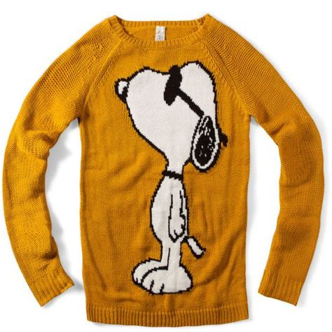 snoopy sweater snoopy sweater found on polyvore get in ma closet my