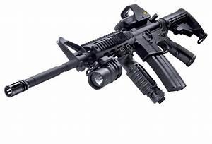 M4A1 Assault Rifle HD Desktop Wallpaper ~ Military WallBase