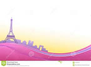 a frame building plans abstract background pink violet eiffel tower travel