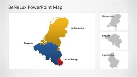 benelux political region powerpoint map slidemodel
