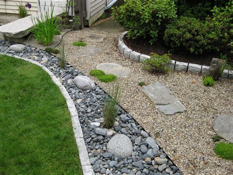 how to build a creek bed pocket garden tour newenglandgardenandthread