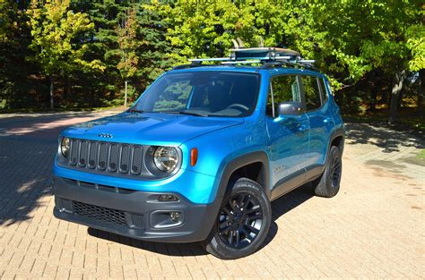 jeep renegade dark blue moparized jeep brand vehicles sema 2014 mopar blog