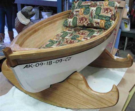 boat shaped cradle woodworking blog  plans