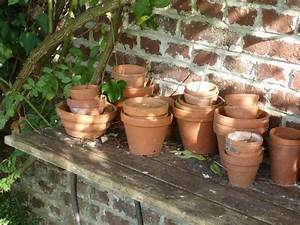 Pot De Fleur En Terre Cuite : pots fleurs jardin terre cuite ~ Premium-room.com Idées de Décoration